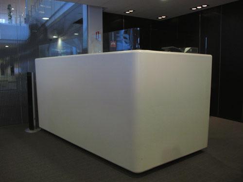 Inredning för reception